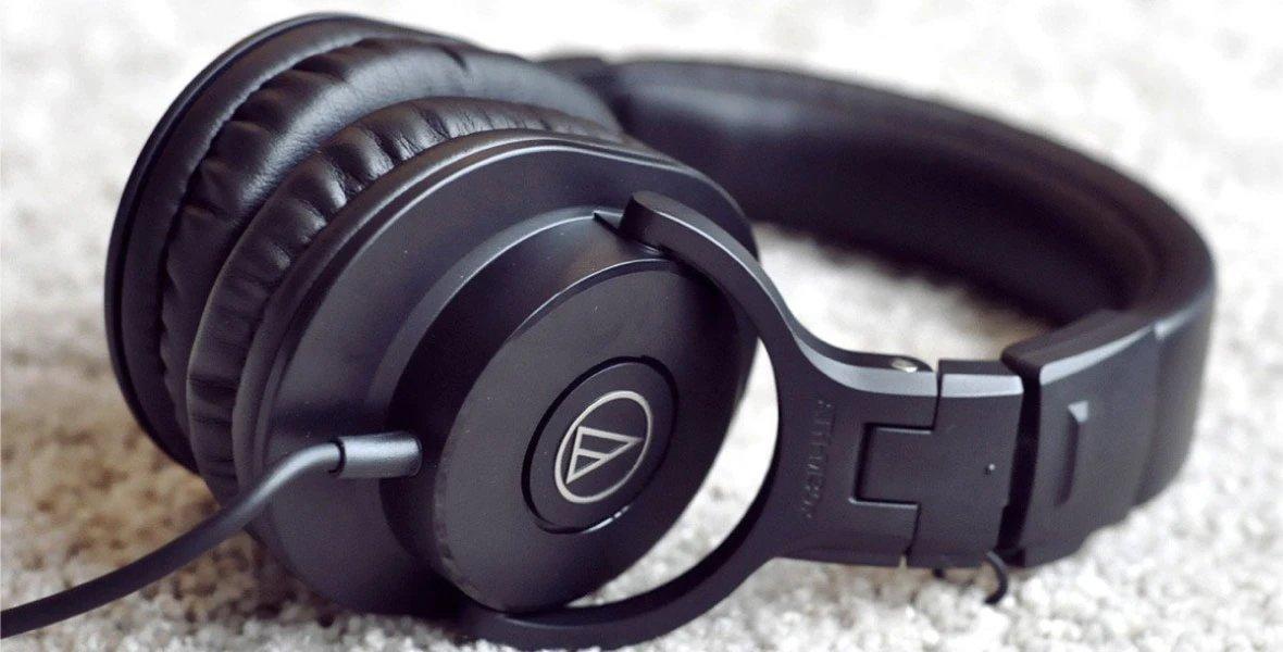 Podcast Headphone Zone Audio technica m20x